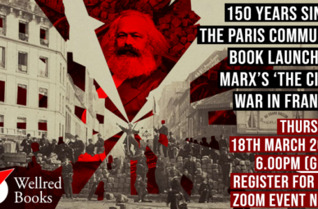 """""""Storming Heaven"""": hundreds celebrate the legacy of the Paris Commune"""