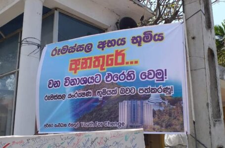 RESCUE Rumassala, the heart of Galle District