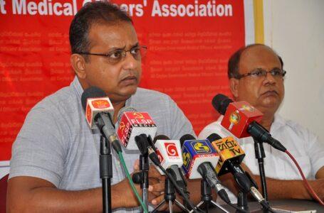 Dr Gishantha Dasanayake, President of the ACGMOA, on the 17 August